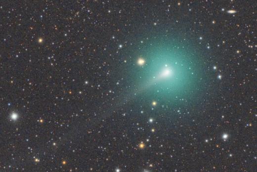 comet atlas, comet atlas fading away, comet atlas fragmenting