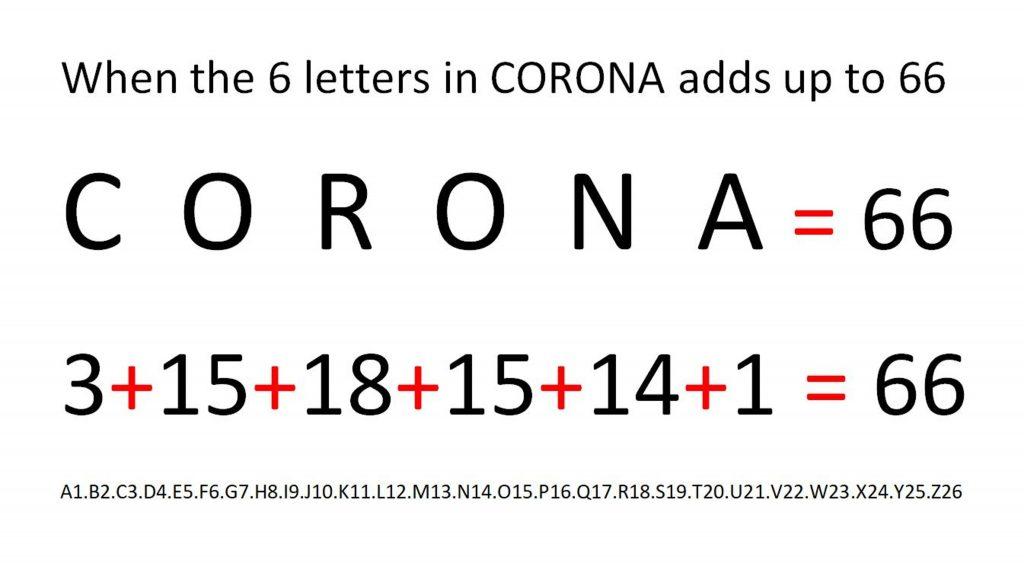 corona 666, 666, 666 bible, 666 antichrist