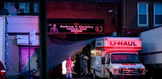 Dozens of decomposing bodies found in trucks at Brooklyn funeral home, Dozens of decomposing bodies found in trucks at Brooklyn funeral home video, Dozens of decomposing bodies found in trucks at Brooklyn funeral home pictures, Dozens of decomposing bodies found in trucks at Brooklyn funeral home april 2020