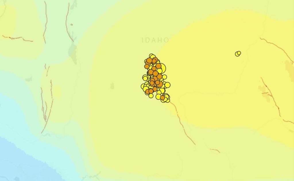 idaho earthquake swarm,earthquake swarm idaho april 2020 idaho earthquake swarm april 2020, earthquake idaho april 2020