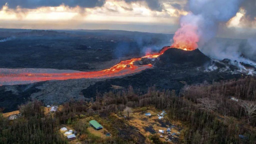 kilauea eruption 2018 triggered by heavy rain