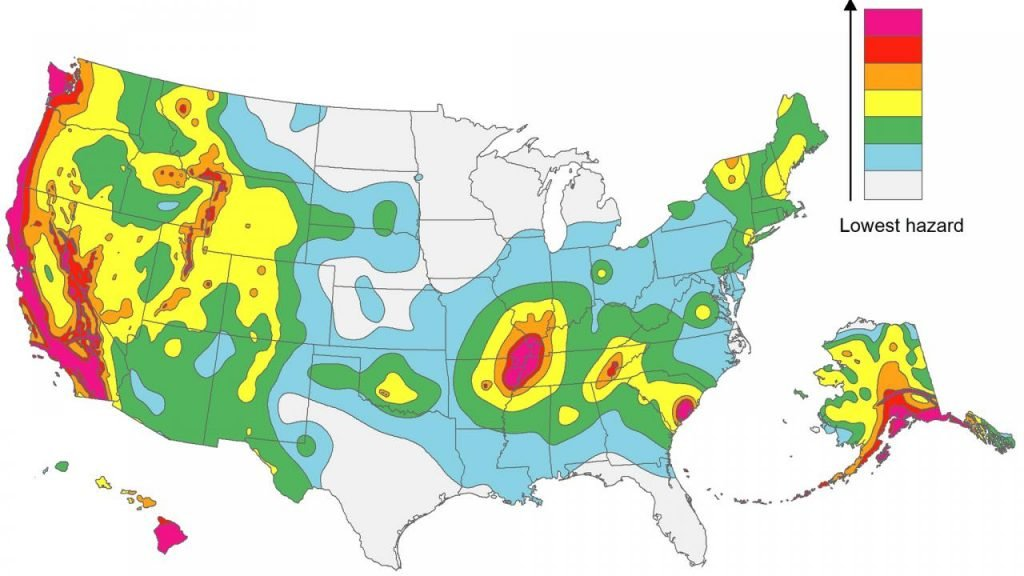 map of US earthquake fault lines in the U.S., where are the us faultlines, us faultlines map, map of us faultlines