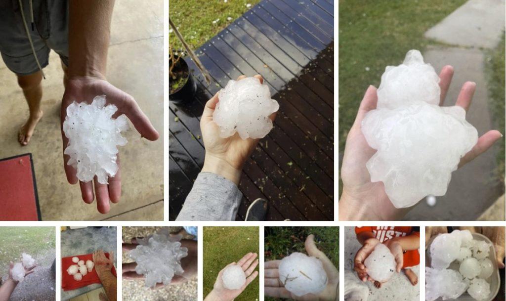Queensland giant hail, Queensland giant hail on April 19 2020, Queensland giant hail on April 19 2020 video, Queensland giant hail on April 19 2020 pictures