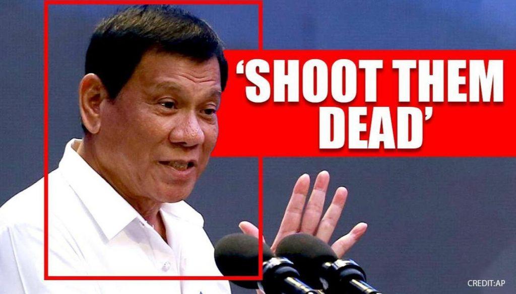 'Shoot Them Dead': Philippine President Duterte Warns Against Violating Lockdown