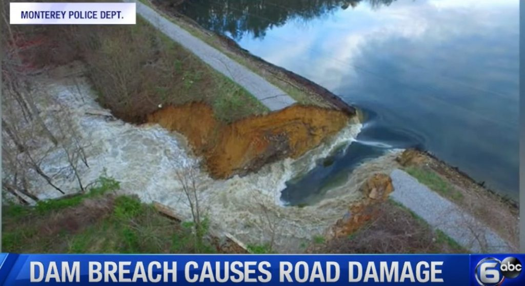 Tennessee dam breach in Putnam and White Counties, Tennessee dam breach in Putnam an video, Tennessee dam breach in Putnam and White Counties picturesd White Counties