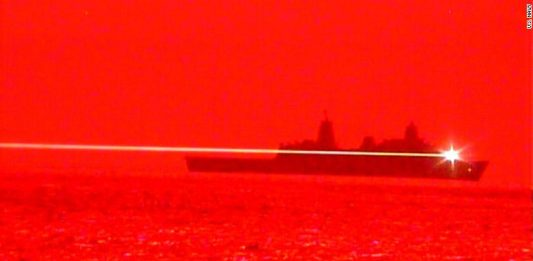 The US successfully tested a laser weapon that can destroy aircraft mid-flight uss portland