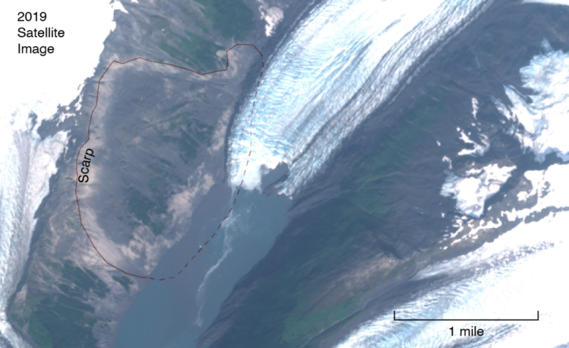 alaska tsunami, alaska tsunami landslide, alaska tsunami landslide threat, alaska tsunami Harriman Fjord, alaska tsunami Harriman Fjord threat