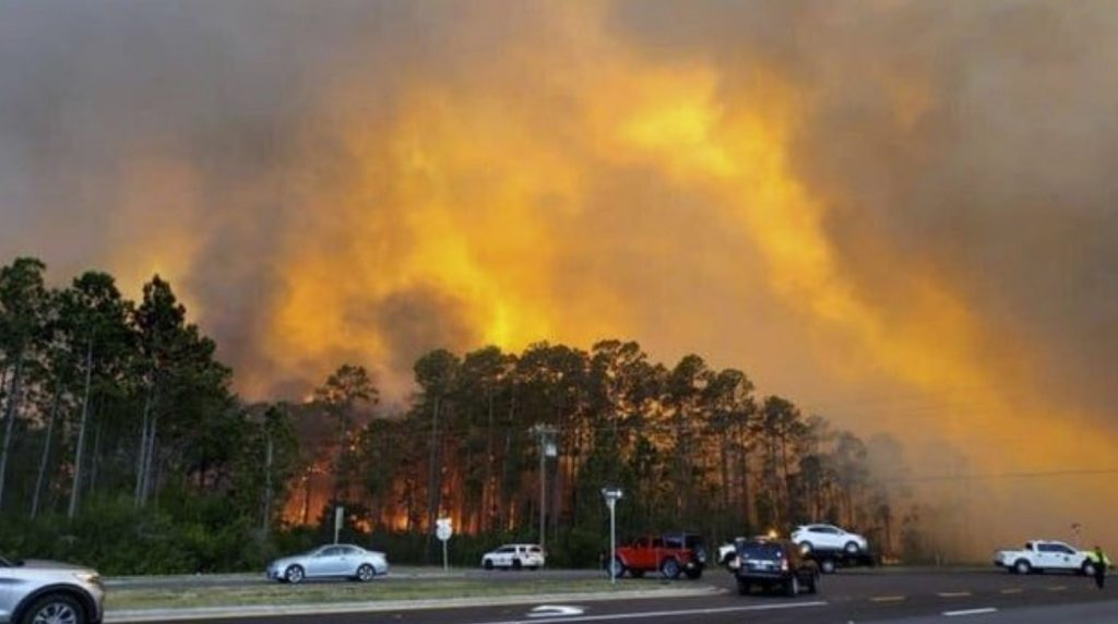 florida panhandle wildfires, florida panhandle wildfires evacuations, florida panhandle wildfires evacuations video, florida panhandle wildfires evacuations picture, florida panhandle wildfires evacuations may 2020