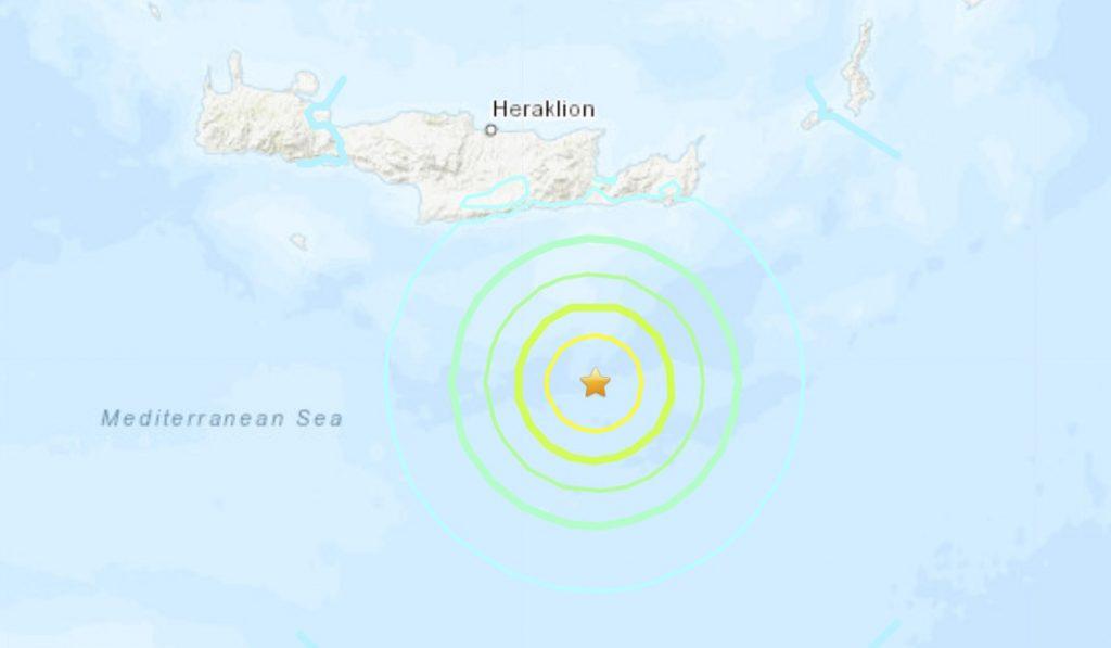 greece earthquake may 2 2020, greece earthquake may 2 2020 video, greece earthquake may 2 2020 pictures, Powerful M6.6 earthquake hits off Crete