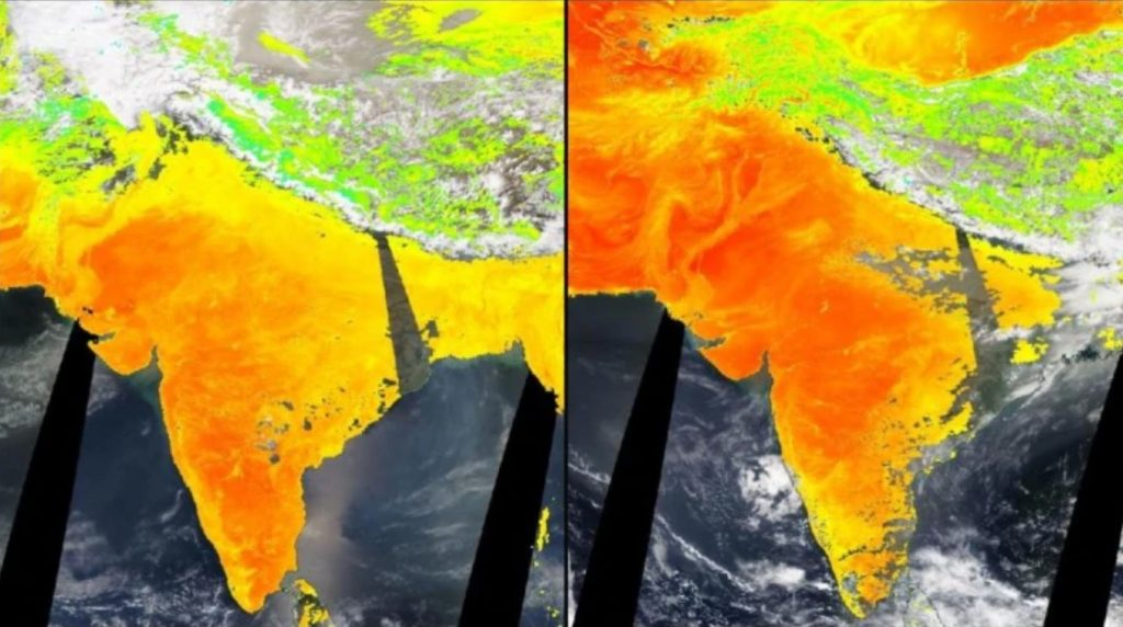 heatwave india, heatwave india may 2020