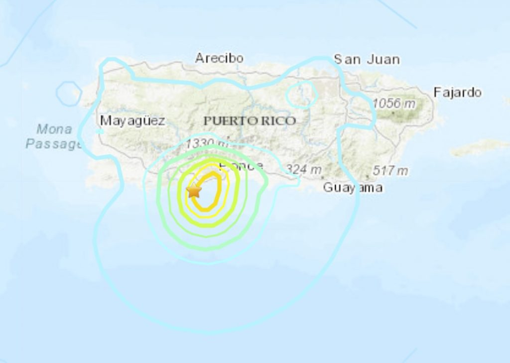 earthquake hit Puerto Rico on May 2 2020, earthquake hit Puerto Rico on May 2 2020 video, earthquake hit Puerto Rico on May 2 2020 map, earthquake hit Puerto Rico on May 2 2020 pictures