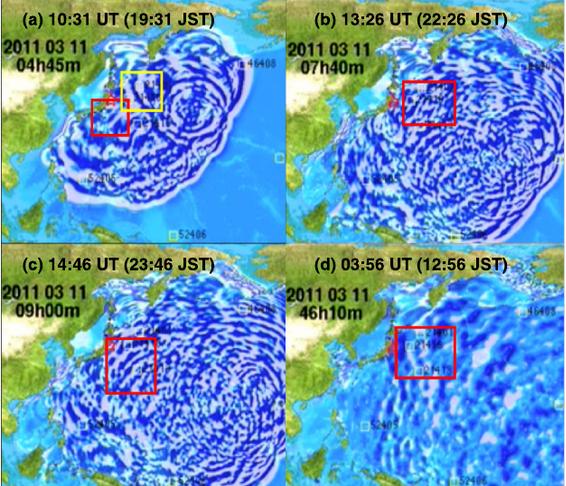 tsunami earthquake affect space weather