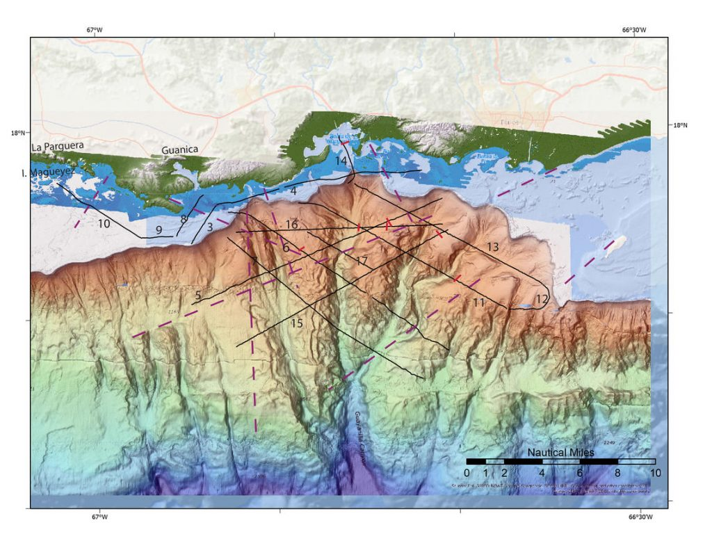 Newly discovered deep sea faults near quake epicenters in Puerto Rico, Newly discovered deep sea faults near quake epicenters in Puerto Rico map, Newly discovered deep sea faults near quake epicenters in Puerto Rico video, Newly discovered deep sea faults near quake epicenters in Puerto Rico picture