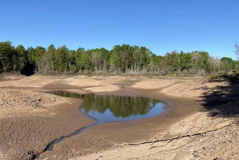Slade Lake disappears overnight in Canada Nova Scotia