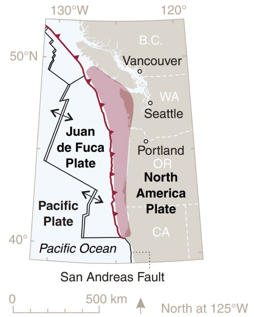 cascadia subduction zone, cascadia subduction zone next big one