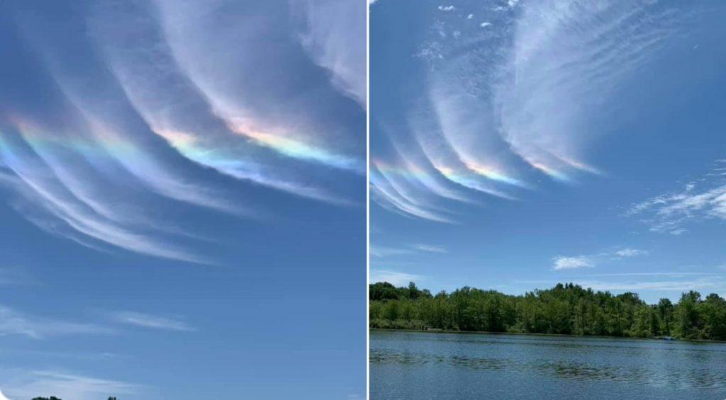 cristobal cloud iridescence, ohio michigan storm june 2020, ohio michigan storm june 2020 video, ohio michigan storm june 2020 pictures, remnants cristobal ohio michigan