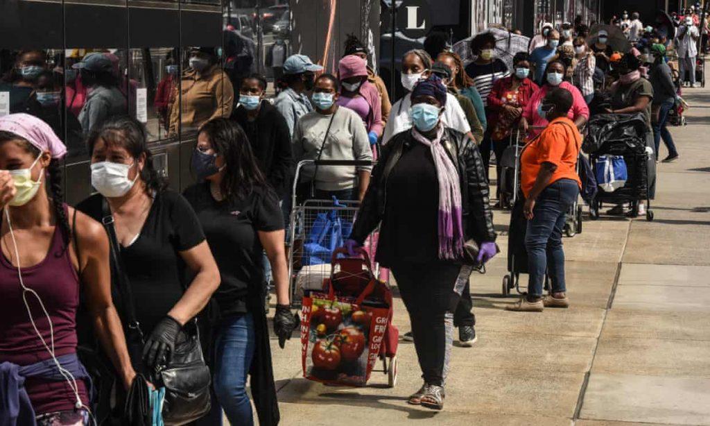 hunger food shortage coronavirus pandemic usa