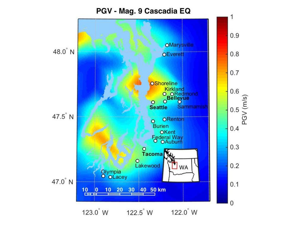 puget sound shaking cascadia earthquake