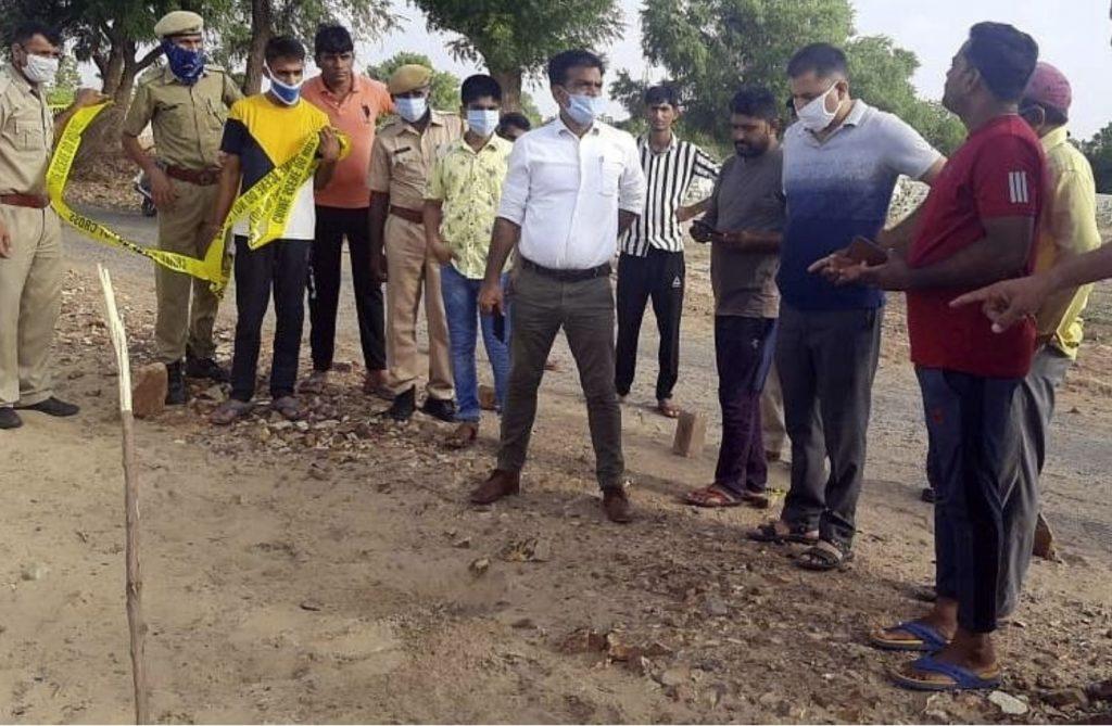 meteorite crashes in India, india meteorite june 19 2020, india meteorite crater, india meteorite pictures june 2020