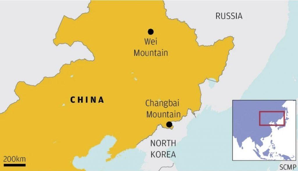 wei volcano in China is recharging for eruption, chinese volcano recharging, china volcano magma recharge, china faces volcanic eruption