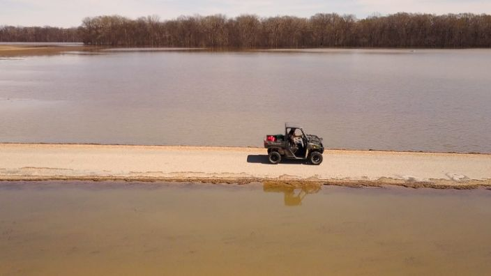 A second straight year of flooding is threatening another year of crops for Mississippi farmers