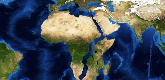 new ocean forms in Africa, africa sslipping apart, new ocean forms in continent video