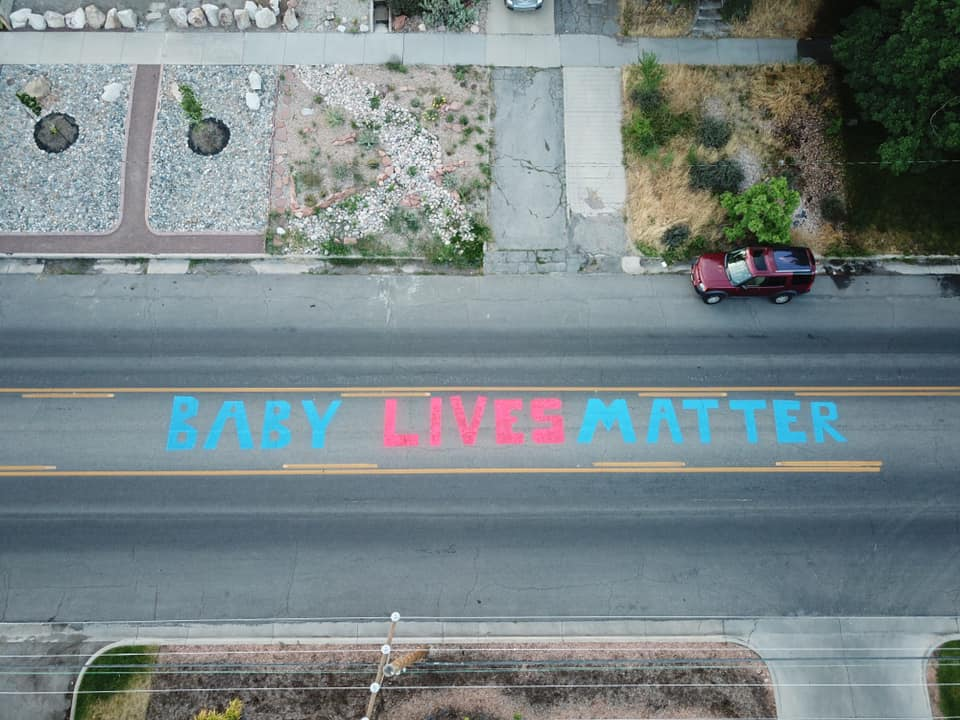 baby lives matter painted in front of planned parenthood salt lake city, baby lives matter painted in front of planned parenthood salt lake city july 2020, baby lives matter painted in front of planned parenthood salt lake city video, baby lives matter painted in front of planned parenthood salt lake city pictures