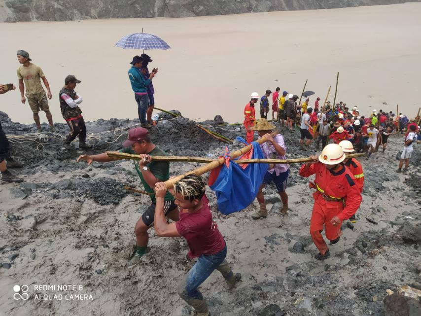 162 killed in Myanmar jade mine collapse on July 2, 162 killed in Myanmar jade mine collapse on July 2 video, 162 killed in Myanmar jade mine collapse on July 2 picture, 162 killed in Myanmar jade mine collapse on July 2 news, 162 killed in Myanmar jade mine collapse on July 2 report