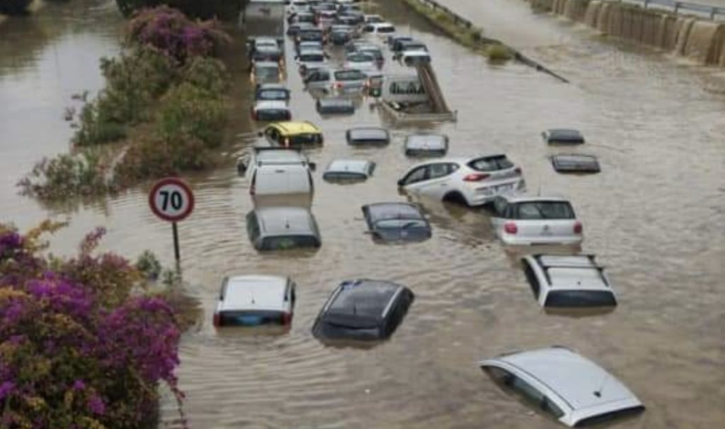 palermo floods, palermo flooding, palermo floods storm video, palermo floods storm pictures, palermo floods storm july 2020