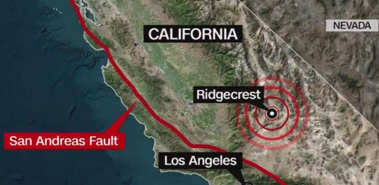 Ridgecrest earthquakes increase risk of big one along san andreas fault
