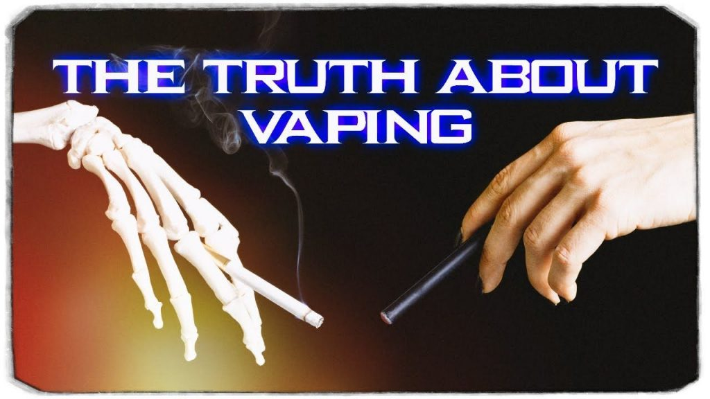 Media lies about vaping, truth about vaping