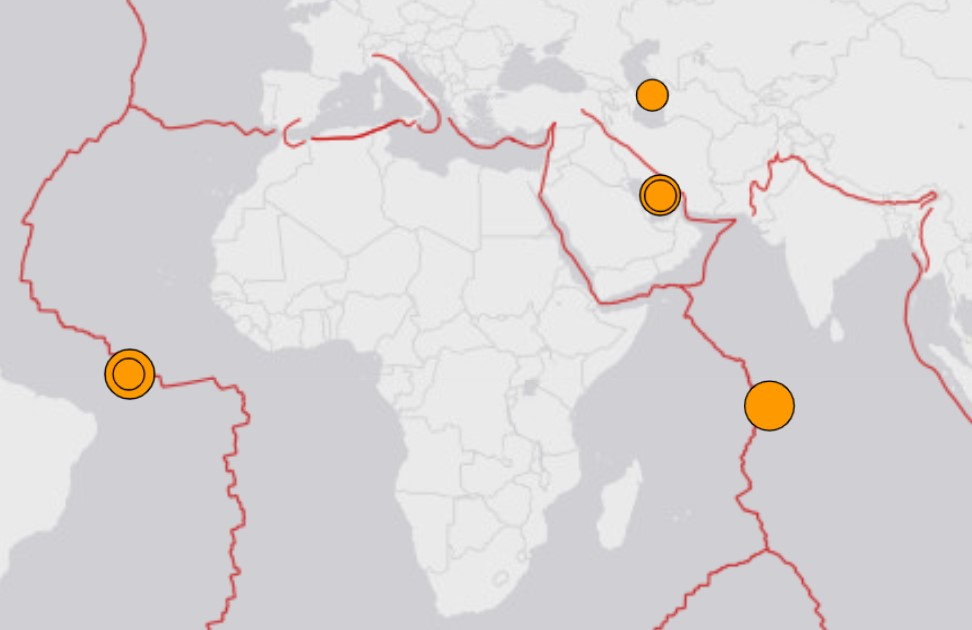 2 strong earthquakes august 30-31 2020, 2 strong earthquakes hit within 20 hours on August 30-31
