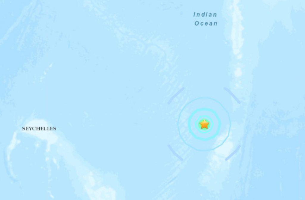 M 6.2 - Chagos Archipelago region