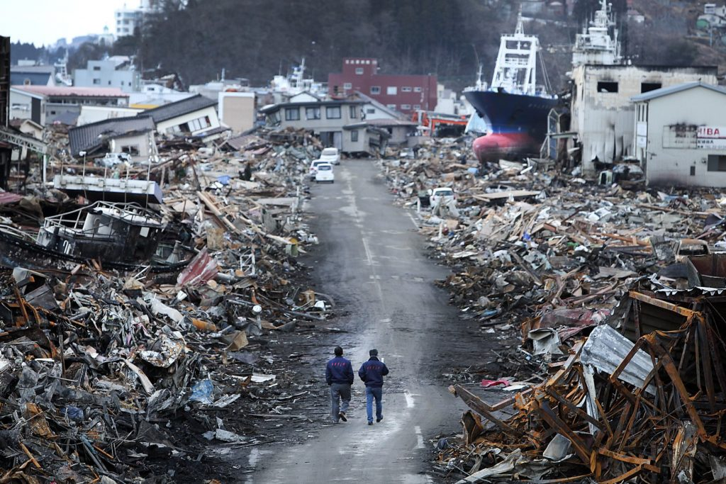 Gas odor panicks geologists in Japan