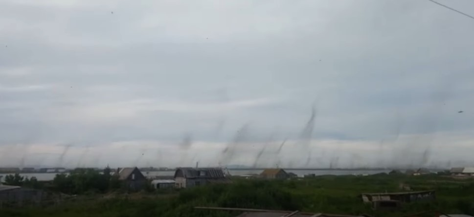 Mosquito tornadoes form in the sky over Kamchatka, mosquito tornadoes russia kamchatka, mosquito tornadoes russia kamchatka video, mosquito tornadoes russia kamchatka pictures, mosquito tornadoes russia kamchatka youtube