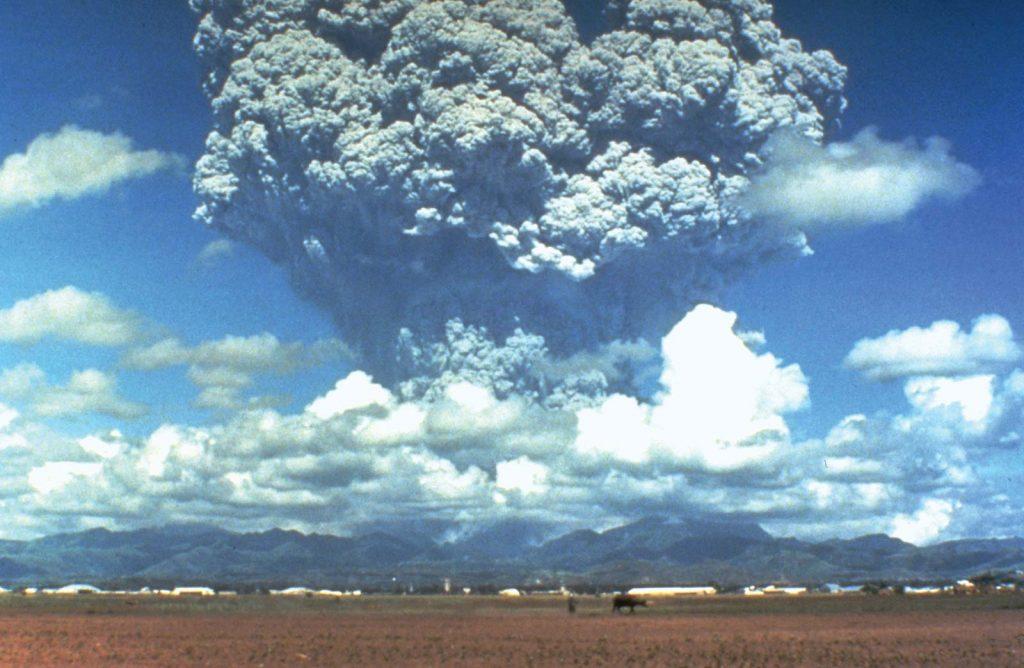 pinatubo eruption, pinatubo eruption 1991, pinatubo eruption volcano tectonic earthquake august 2020
