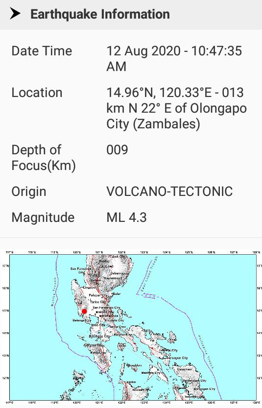 pinatubo volcano tectonic earthquake