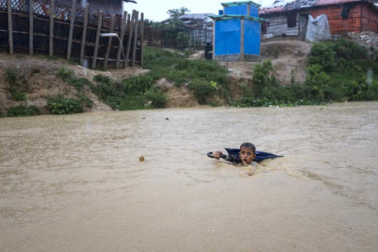 unprecedented monsoon floods in South Asia