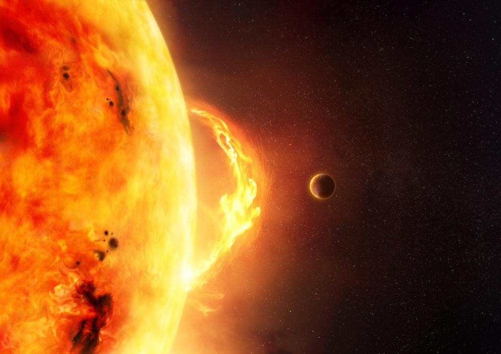 carrington event solar storm