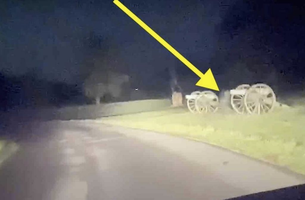 Two ghosts were captured at Gettysburg on video, Ghosts at Gettysburg captured on video