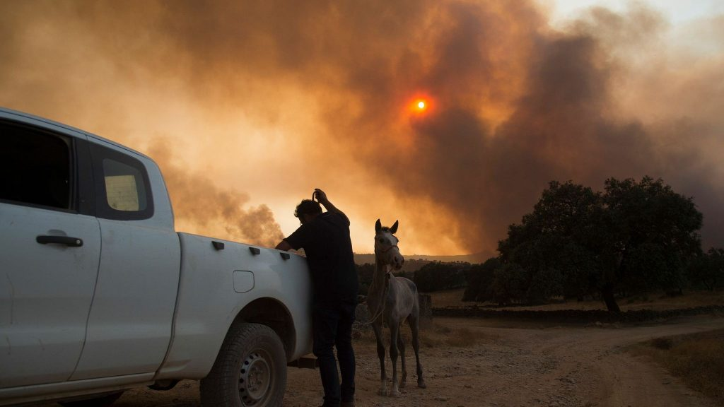 apocalyptic fires spain andalucia, apocalyptic fires spain andalucia september 2020, apocalyptic fires spain andalucia video