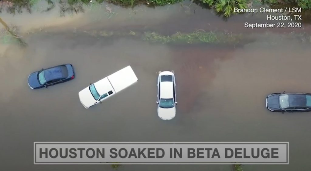 Tropical Storm Beta has brought heavy rain and major flooding throughout the Houston area, beta floods houston, houston flooded during beta storm