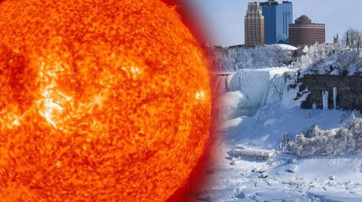We are plunging now into a deep mini ice age and there is no way out