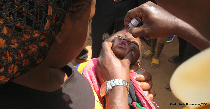 polio vaccine cause polio outbreaks in Africa