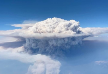 pyrocumulus cloud california wildfires september 2020