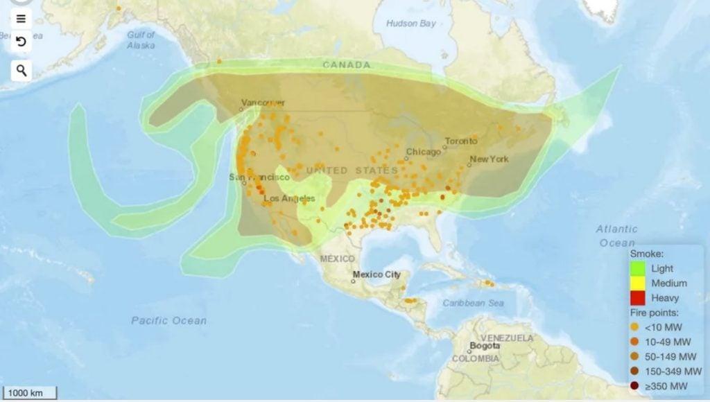 smoke us fire map, smoke us fire map 2020