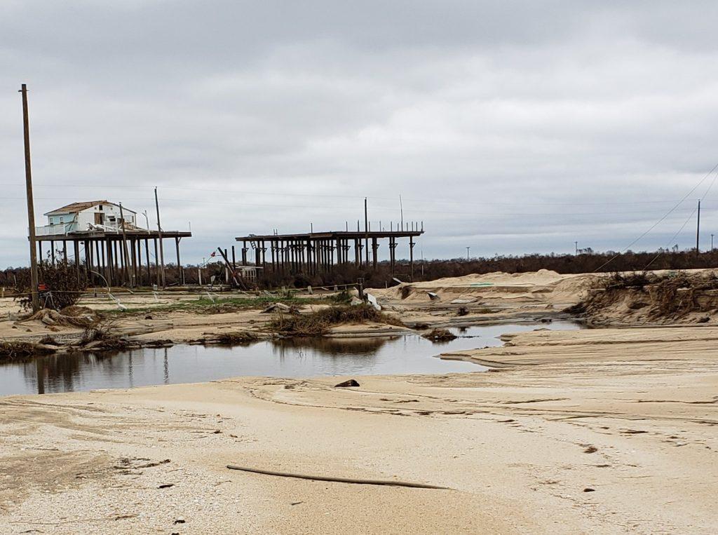 storm surge laura, storm surge laura video, storm surge laura september 2020