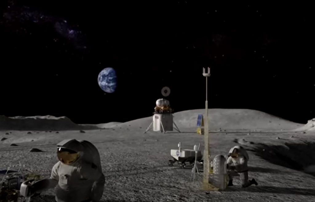 Nokia wins NASA contract to put a 4G network on the moon mobile network moon, moon mobile network nokia