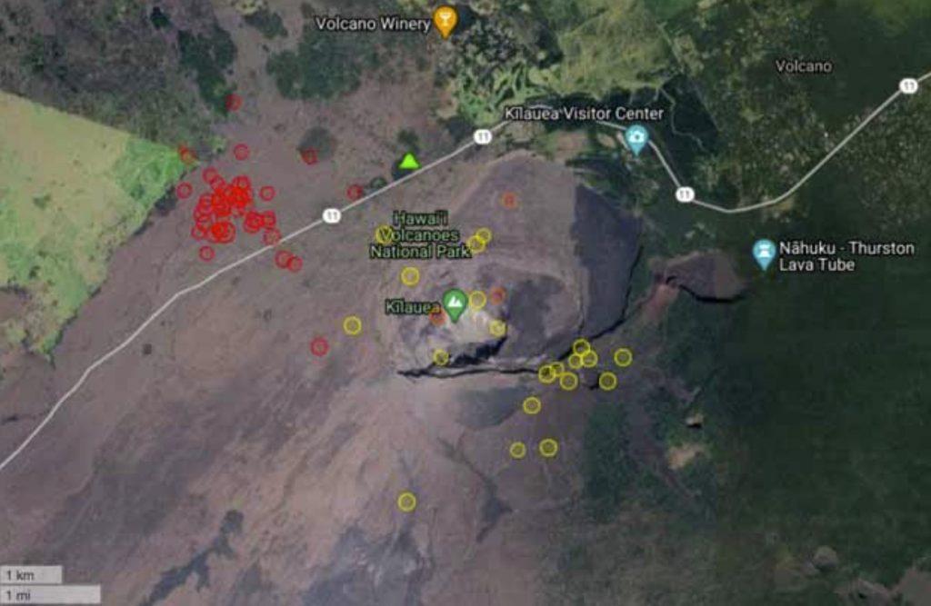 earthquake swarm kilauea volcano october 23 2020, earthquake swarm kilauea volcano october 23 2020 hawaii