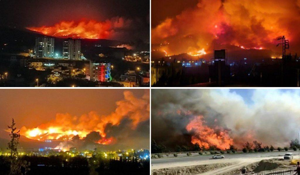 Apocalyptic fires cause devastation across Israel, Syria, Lebanon and Turkey